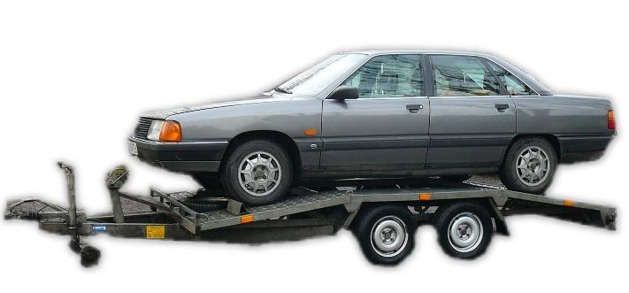 Lawety do przewozu pojazdów