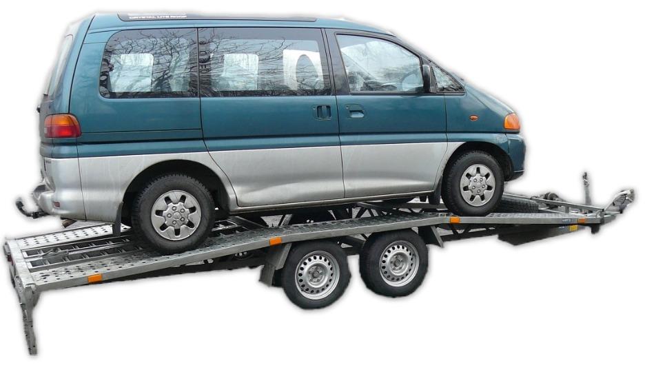 Lawety do przewozu samochodów dostawczych