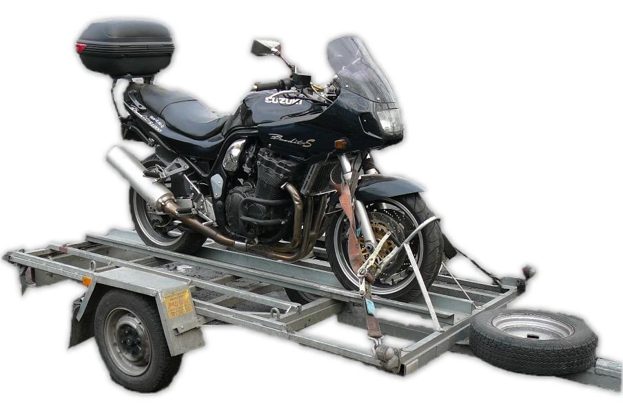 Przyczepa do przewozu motocykli DMC 550