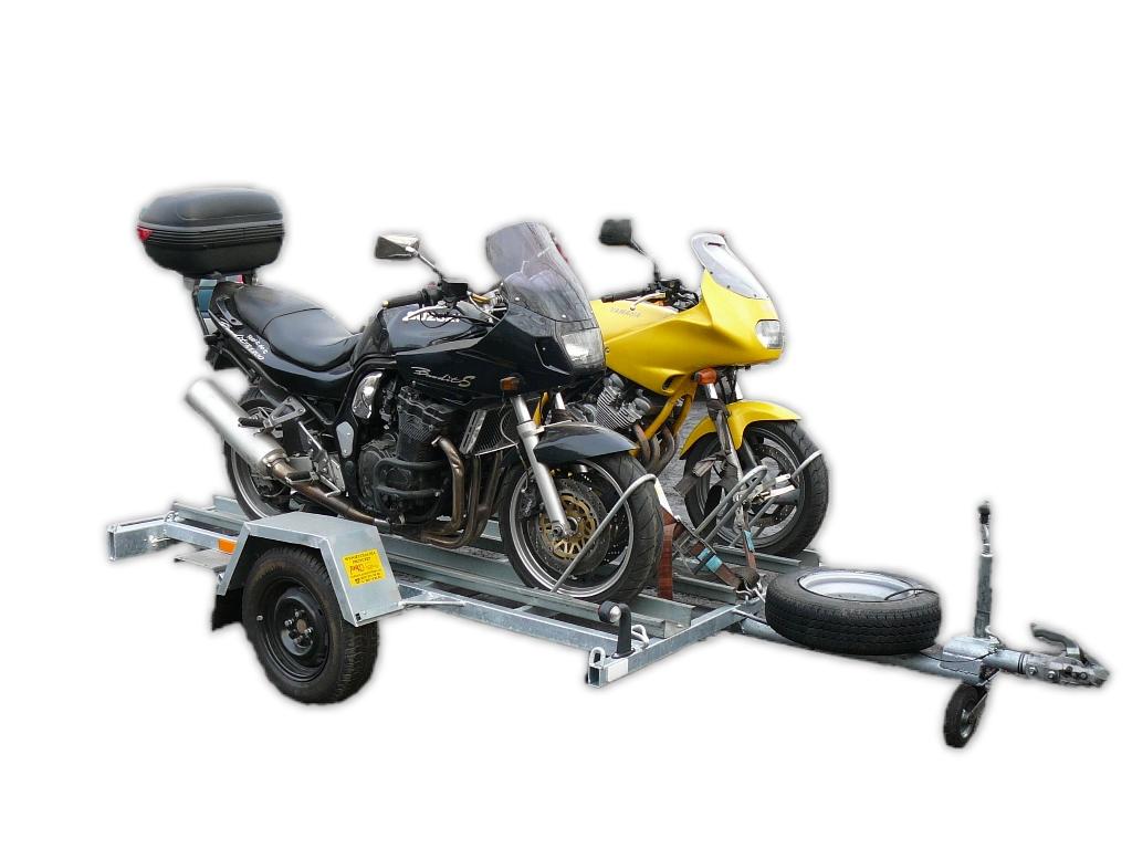 Przyczepa do przewozu motocykli DMC 750kg
