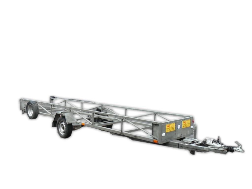 Przyczepa dłużycowa DMC 750kg