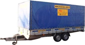 Przyczepa ciężarowa DMC 1300kg