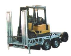 Przyczepa do przewozu maszyn budowlanych DMC 3500